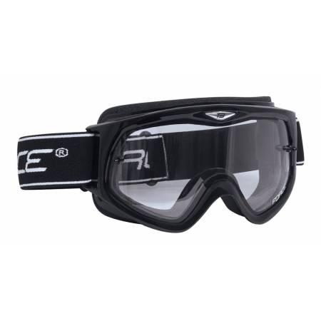 Brýle Force sjezdové černé   čiré sklo obr.[1]