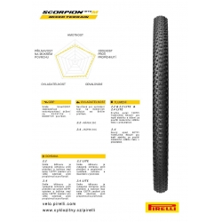 Plášť Pirelli Scorpion MTB M Lite 29 x 2.2 obr.[2]