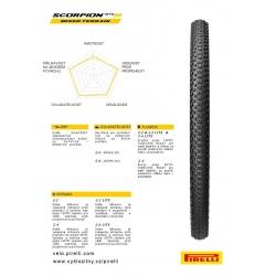 Plášť Pirelli Scorpion MTB M 29 x 2.2 obr.[2]