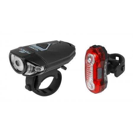 Světla sada FORCE EXPRESS USB | přední+zadní obr.[1]