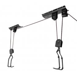 Držák kola FORCE LIFTY na strop | černý obr.[1]