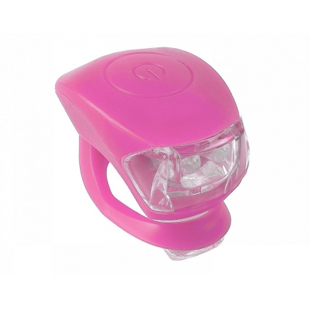 Světlo M-Wave sada blikaček Cobra IV led | růžová obr.[1]