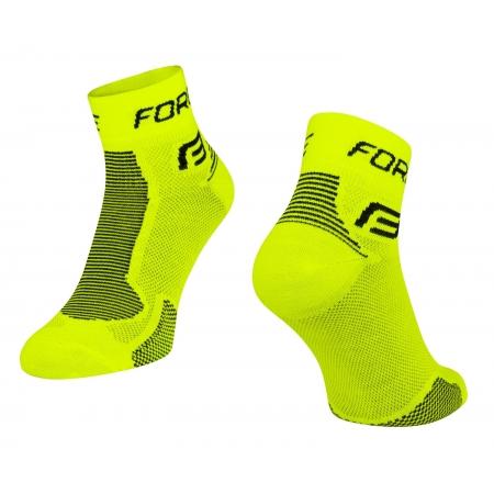 Ponožky Force 1 | fluo-černé obr.[1]