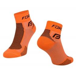 Ponožky Force 1 | oranžovo-černé obr.[1]
