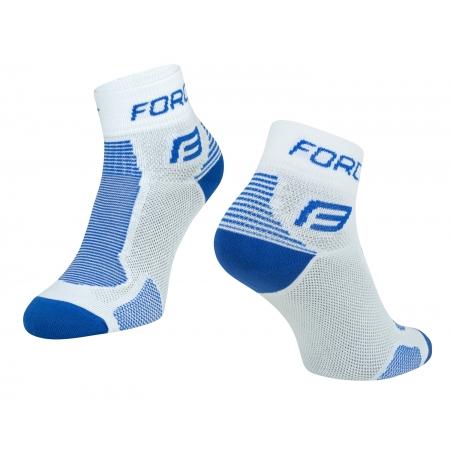 Ponožky Force 1 | bílo-modré obr.[1]