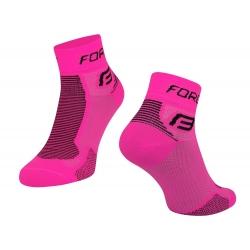 Ponožky Force 1 | růžovo-černé obr.[1]