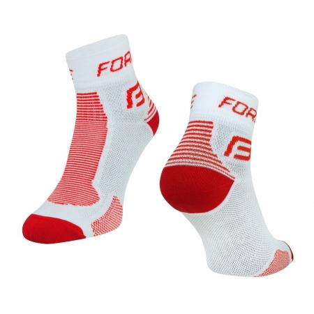 Ponožky Force 1 | bílo-červené obr.[1]