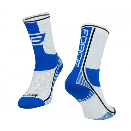 Ponožky Force Long Plus | modro-černo-bílé obr.[1]