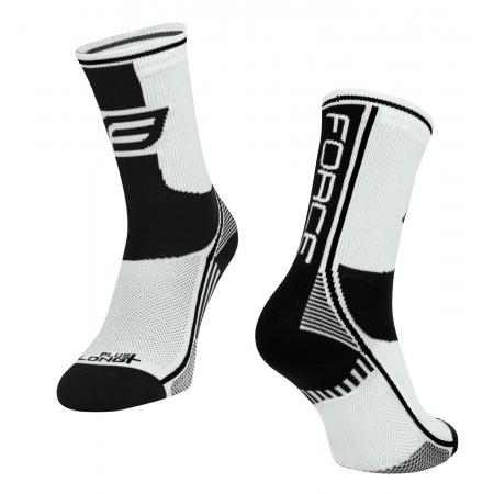 Ponožky Force Long Plus | bílo-černé obr.[1]