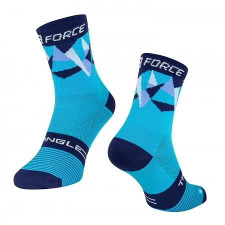 Ponožky Force Triangle | modré obr.[1]