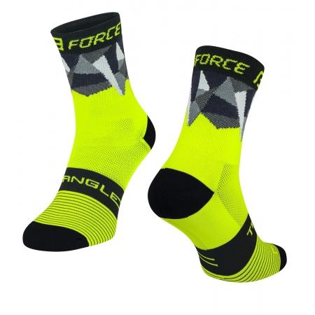 Ponožky Force Triangle | fluo-černé obr.[1]