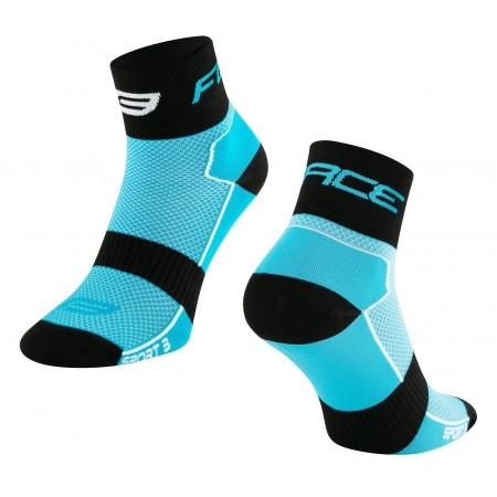 Ponožky Force Sport 3 | modro-černé obr.[1]