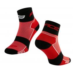 Ponožky Force Sport 3 | červeno-černé obr.[1]