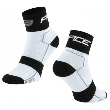 Ponožky Force Sport 3 | bílo-černé obr.[1]