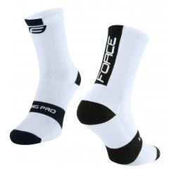 Ponožky Force Long Pro | bílo-černé obr.[1]