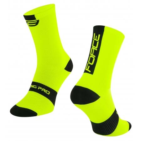 Ponožky Force Long Pro | fluo-černé obr.[1]