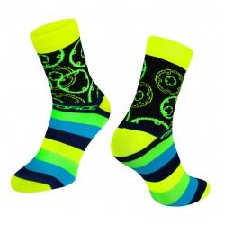Ponožky Force Sprocket | žluté obr.[1]