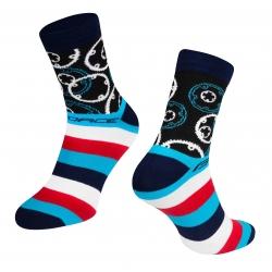 Ponožky Force Sprocket | modré obr.[1]