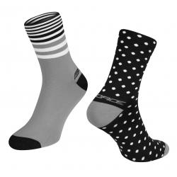 Ponožky Force Spot | černo-šedé obr.[1]