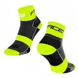 Ponožky Force Sport 3 | černo-fluo obr.[1]