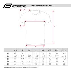 Dres FORCE MTB X5 | modro-fluo obr.[3]