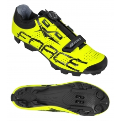 Tretry FORCE MTB CRYSTAL | fluo obr.[1]