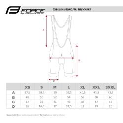 Kraťasy FORCE B40 se šráky a vložkou | černo-fluo obr.[5]