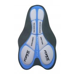 Kraťasy Force MTB-11 s odnímatelnou vložkou | modré obr.[5]