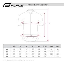 Dres Force FASHION | krátký rukáv | černo-fluo obr.[3]
