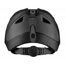 Přilba FORCE SKI černá | šedý potisk obr.[3]