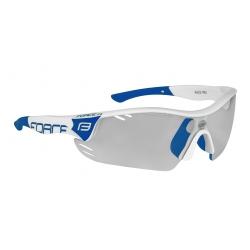 Brýle FORCE RACE PRO | bílo-modré | fotochromatická obr.[1]
