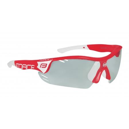 brýle FORCE RACE PRO červeno-bílé, fotochromatická obr.[1]