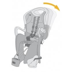 sedačka TIGER RELAX B-FIX zadní černo-oranžová obr.[2]