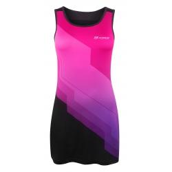 Šaty sportovní FORCE ABBY | růžovo-černé obr.[1]