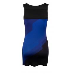 Šaty sportovní FORCE ABBY | modro-černé obr.[2]