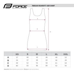 Šaty sportovní FORCE ABBY | modro-černé obr.[3]