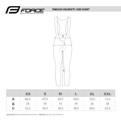 Kalhoty Force REFLEX LINE LADY s vložkou   černé obr.[4]