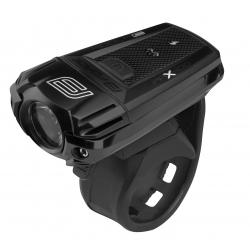 světlo přední FORCE PAX 400LM USB, černé obr.[1]