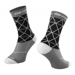 Ponožky FORCE EVOKE | černo-šedé obr.[1]