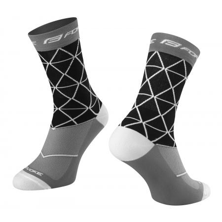 Ponožky FORCE EVOKE   černo-šedé obr.[1]
