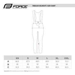 Kalhoty Force REFLEX LINE LADY bez vložky | černé obr.[3]