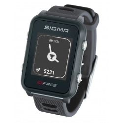 Hodinky sportovní SIGMA iD.FREE | šedé obr.[1]