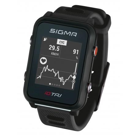 Hodinky sportovní SIGMA iD.TRI Basic | černé obr.[1]