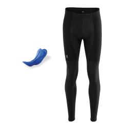 PURE Z | Zateplené kalhoty + sedlo | černé obr.[1]