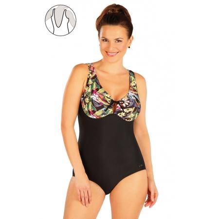 Jednodílné plavky s kosticemi Art.63346 obr.[1]