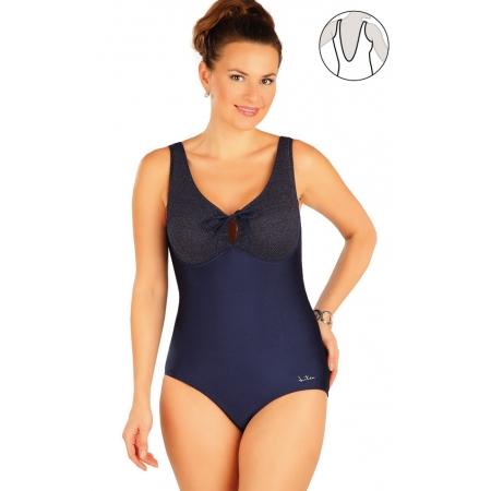 Jednodílné plavky s kosticemi Art.63409 obr.[1]