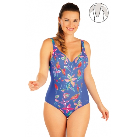 Jednodílné plavky s kosticemi Art.63123 obr.[1]