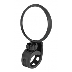 Zpětné zrcátko Force otočné silikonový držák | černé obr.[1]
