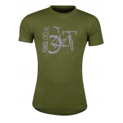 Triko FORCE FLOW krátký rukáv | zelené obr.[1]
