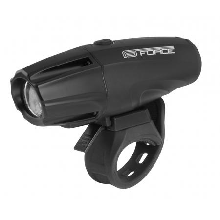 Světlo přední FORCE SHARK 700LM USB | černé obr.[1]
